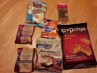 Treats collected from the allergen free trick or treat that weren't allergen free