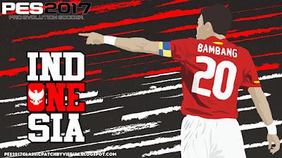 PES 2017 Theme Indonesia Graphic Menu by Vieri32