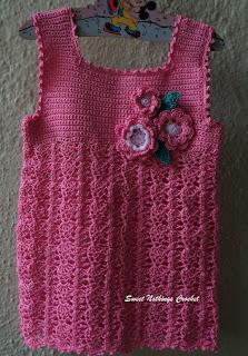 free crochet little girls top, free crochet dress pattern