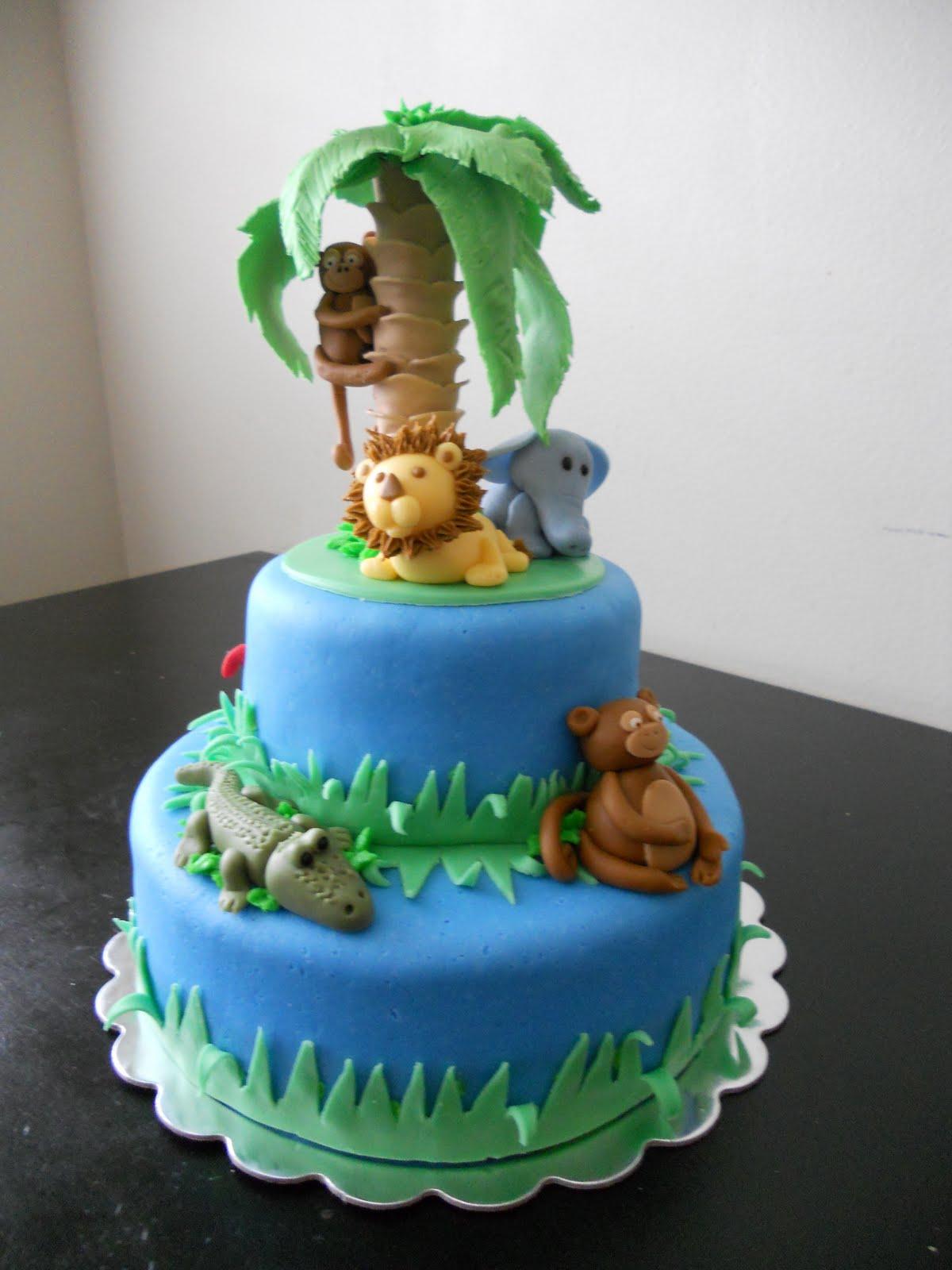 Amber S Birthday Creations Final Jungle Cake