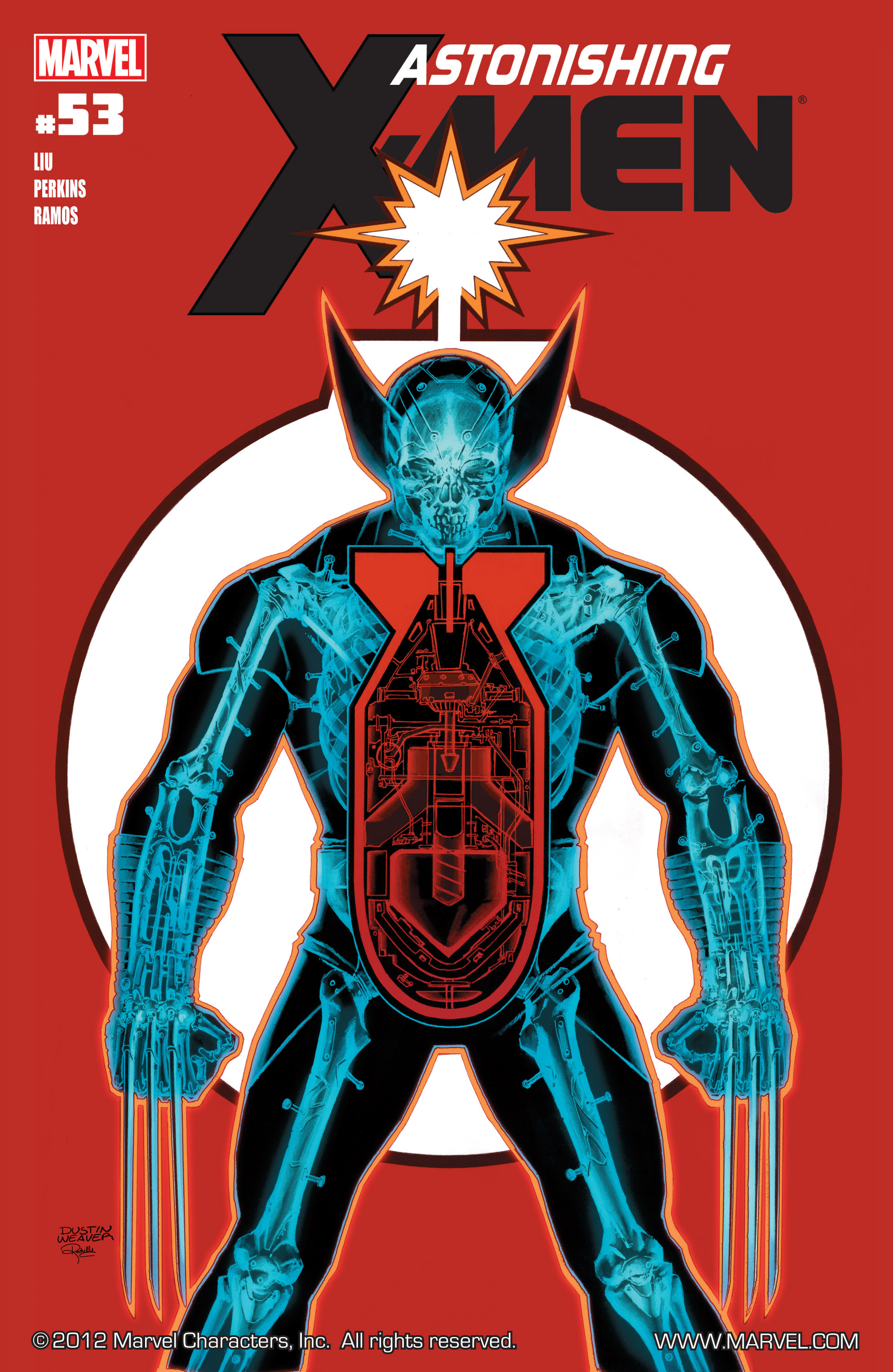 Read online Astonishing X-Men (2004) comic -  Issue #53 - 1