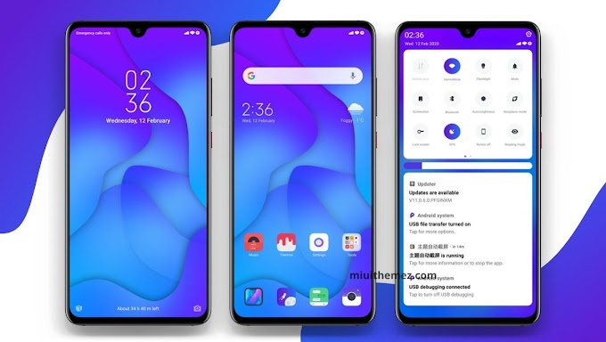The Coolest Blue MIUI Theme for Xiaomi Devices