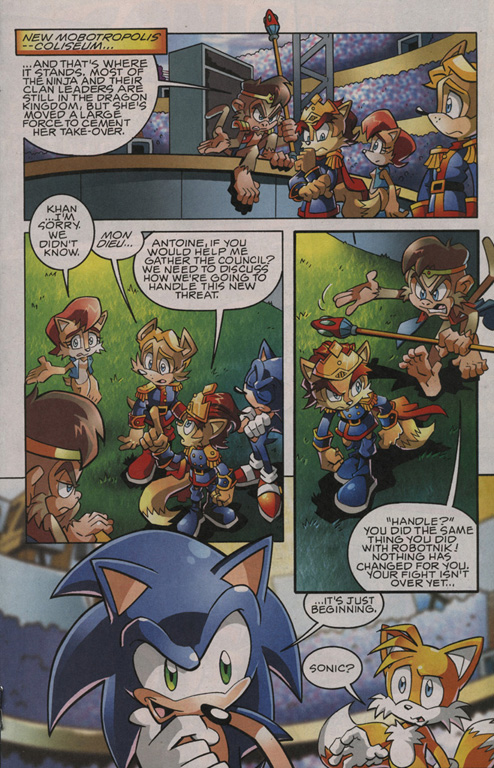 Read online Sonic The Hedgehog comic -  Issue #201 - 14
