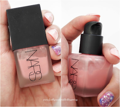 NARS Liquid Blush Orgasm Review Swatches and Demo
