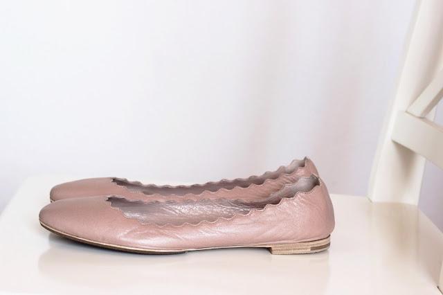 ktinka.com Chloé Ballerinas Flats Lauren Nude