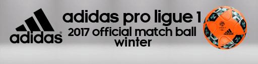 Adidas Pro Ligue 1 2017 Ball PES 2013