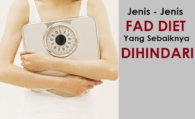 Jenis-Jenis Fad Diet yang Sebaiknya Dihindari