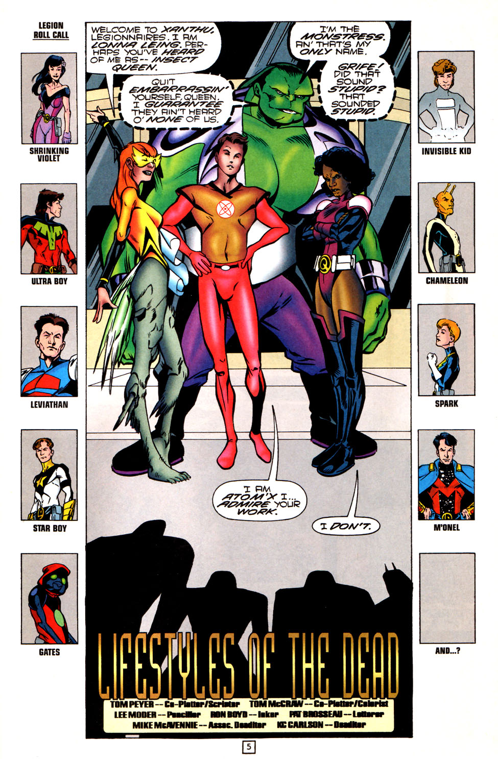 Legion of Super-Heroes (1989) 82 Page 5