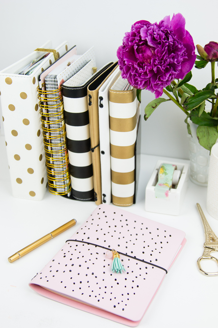 DIY @heidiswapp Traveler's Notebook by @createoften