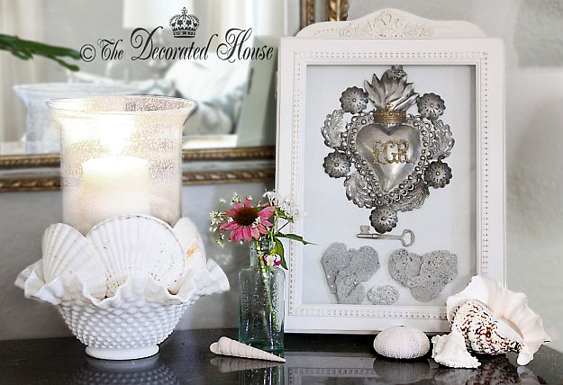 The Decorated House : Summer Decorating with Shells