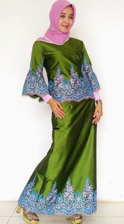 20 Baju Gamis Pesta Brokat Elegan Terbaru - Kumpulan Model ...