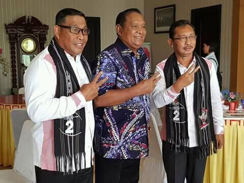 Tim Baileo Kampayekan Mitologi Nomor  Urut Calon Gubernur Maluku