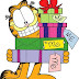 Navidad Garfield, dibujos
