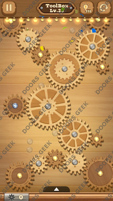 Fix it: Gear Puzzle [ToolBox] Level 25 Solution, Cheats, Walkthrough for Android, iPhone, iPad and iPod
