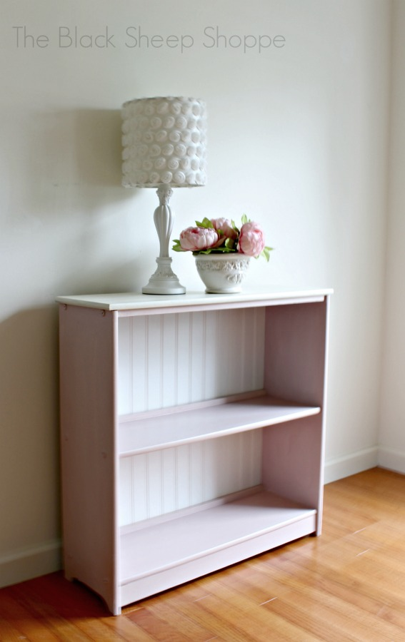Paint and a piece of wainscoting transformed this thrift store find.