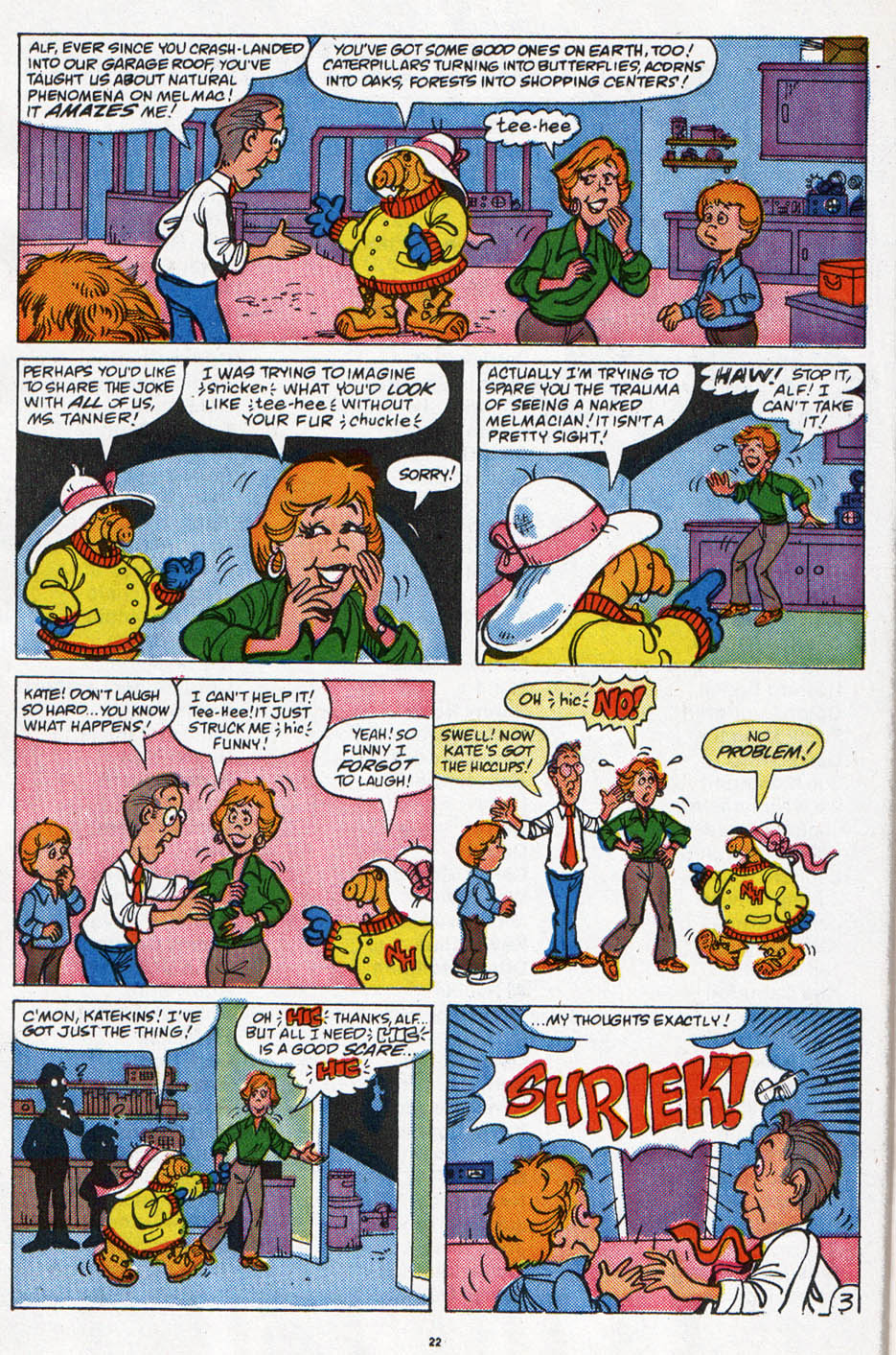 Read online ALF comic -  Issue #6 - 19
