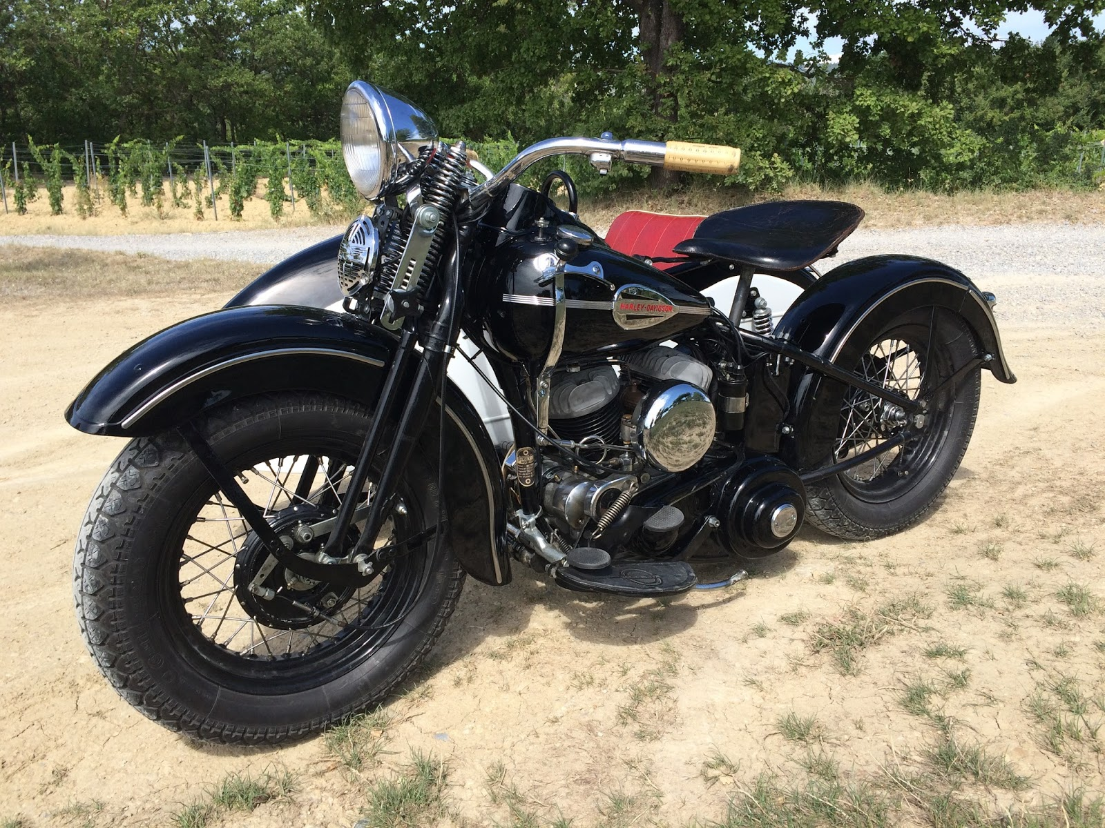 hardsun motorcycles harley davidson 1942 wlc la vente. Black Bedroom Furniture Sets. Home Design Ideas