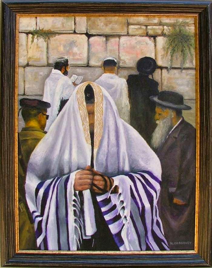 Израильский художник. Николай Грабовой