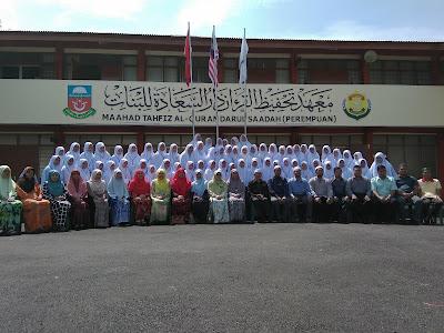 pelajar, guru, MTAQDS, pelajar form one, sekolah baru, tahfiz vokasional