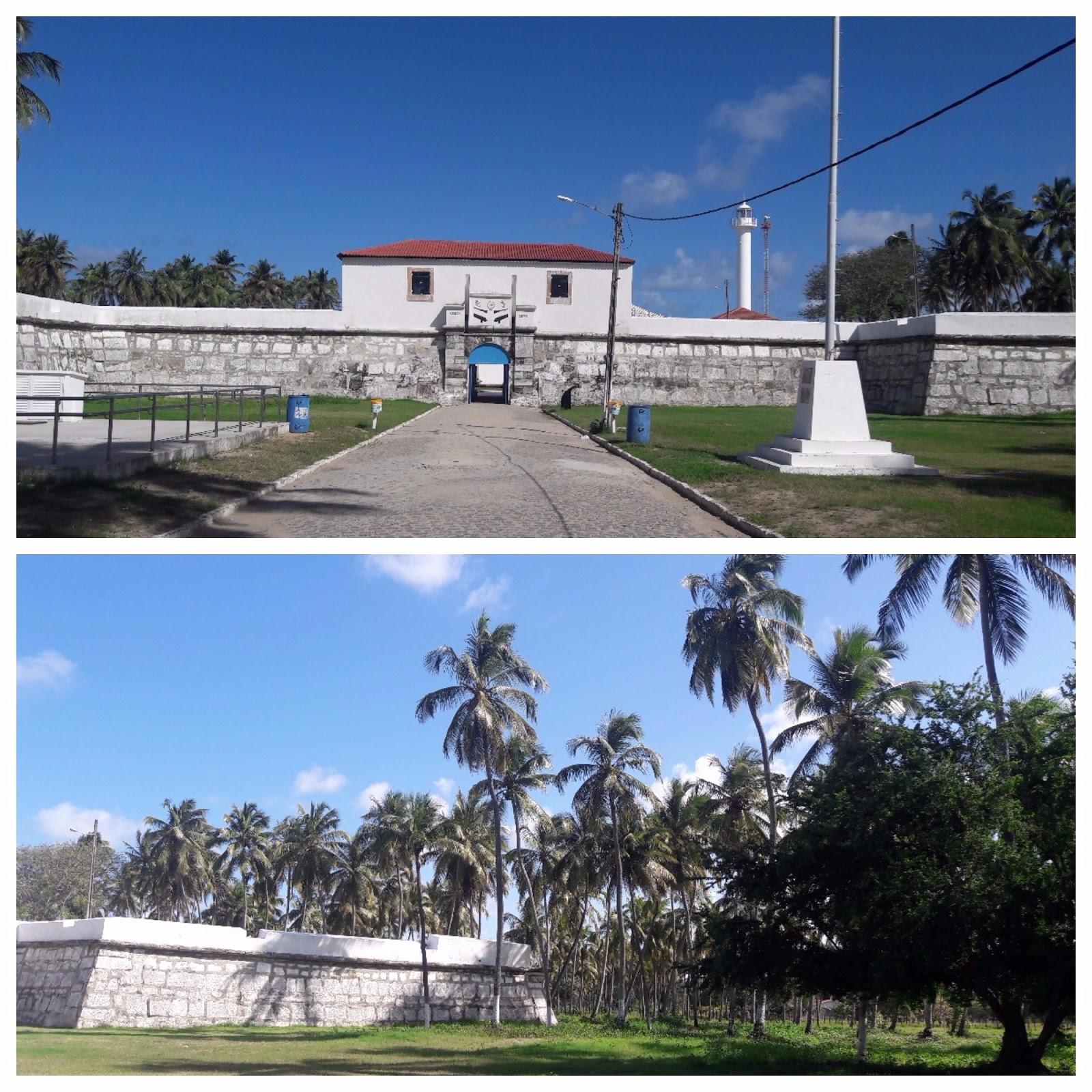 Forte de Tamandaré, Praia dos Carneiros, Pernambuco.