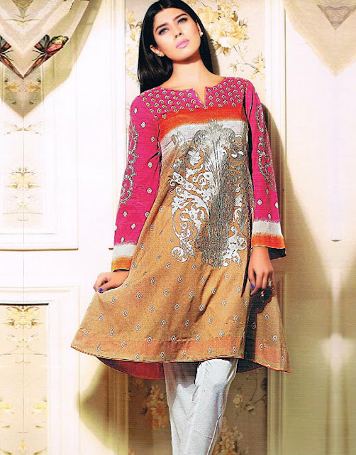 Latest Cotton Kurtis 2015