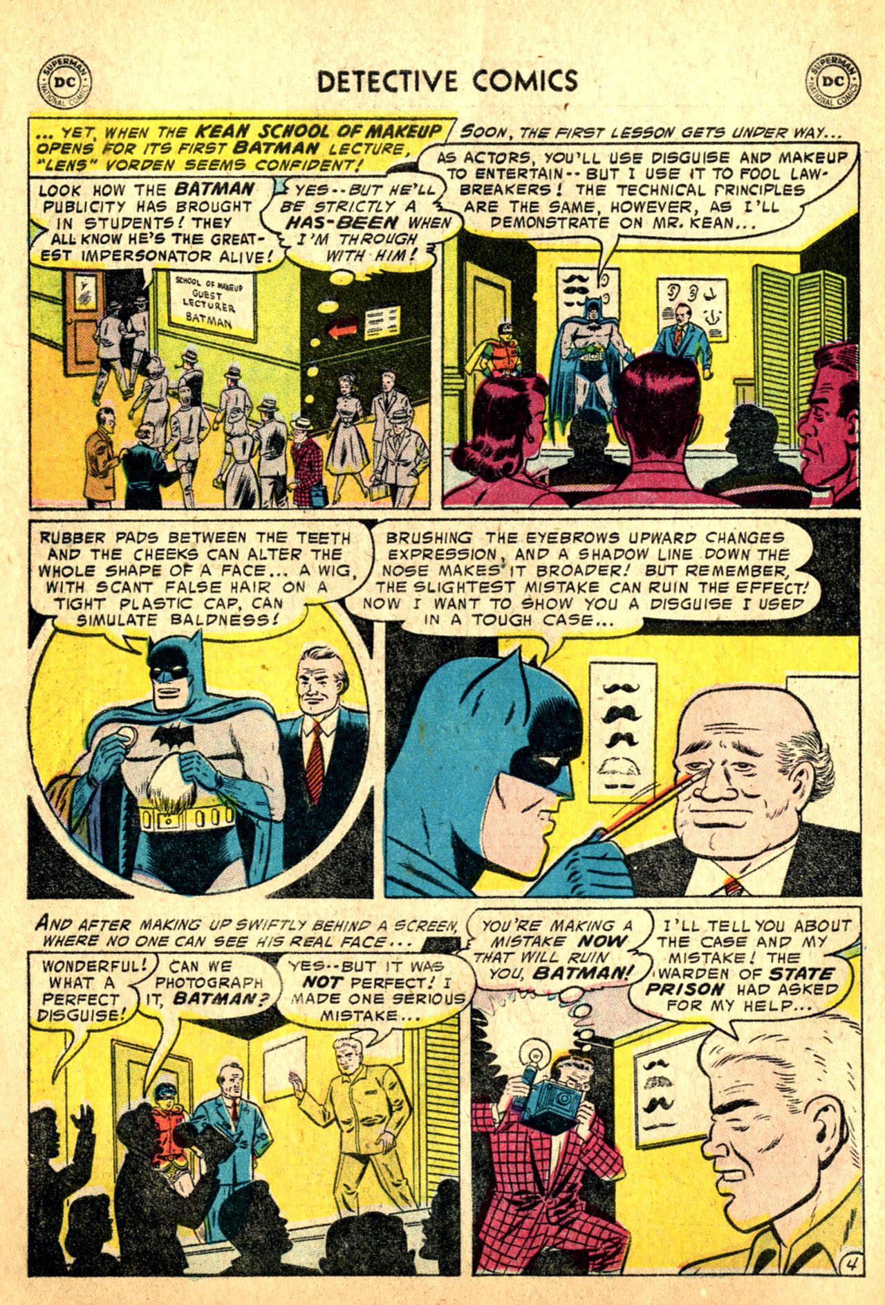Read online Detective Comics (1937) comic -  Issue #227 - 6