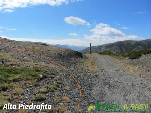 Alto de Piedrafita, Aller