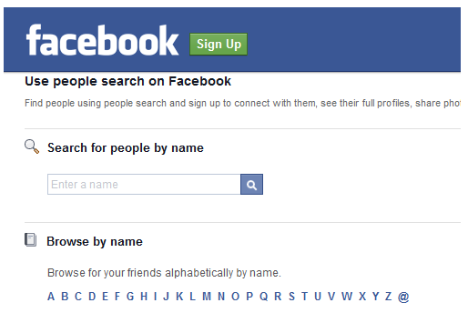 Facebook user search without login  How to See My Password
