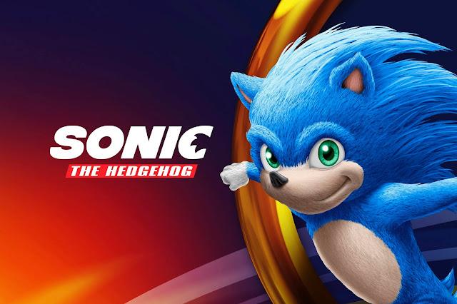Bentuk tubuh Sonic tiba-tiba nampak dalam sebuah website perusahaan branding