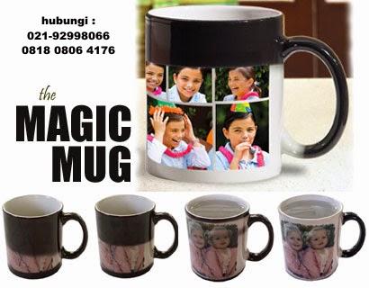 Mug Bunglon/Mug Magic sablon Foto