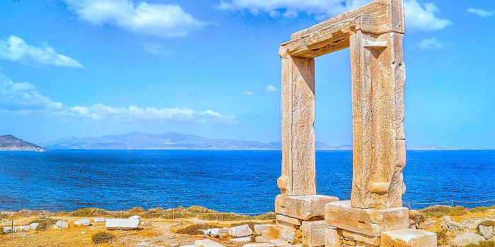La Portara di Naxos, Cicladi, Grecia