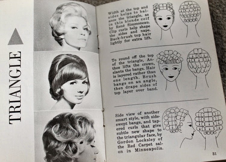 A Vintage Nerd, Dell Purse Book, 1964 Dell Purse Book, Vintage Hairstyle Books, 1960s Hairstyle Tips, Retro Fashion Blog, Vintage Lifestyle Blog, Hairstyles for your face