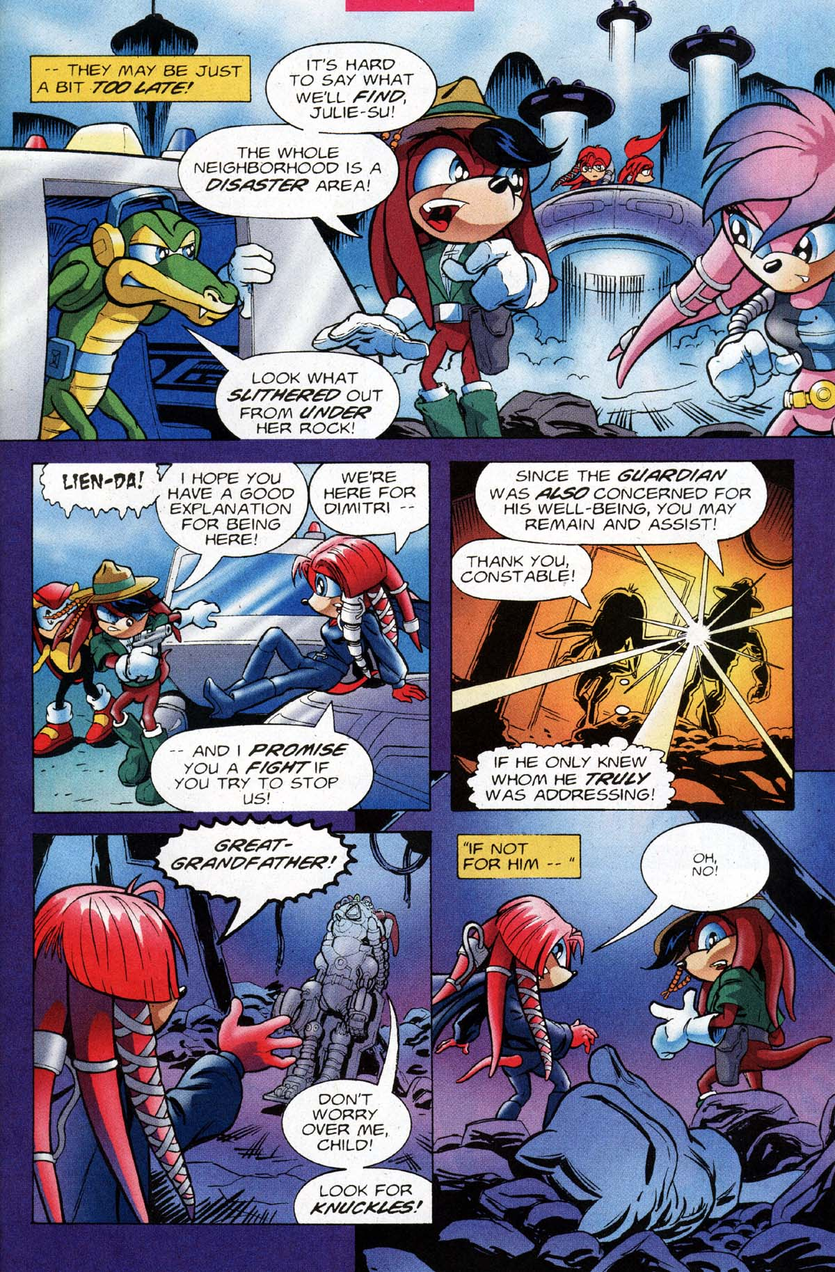 Read online Sonic The Hedgehog comic -  Issue #118 - 24