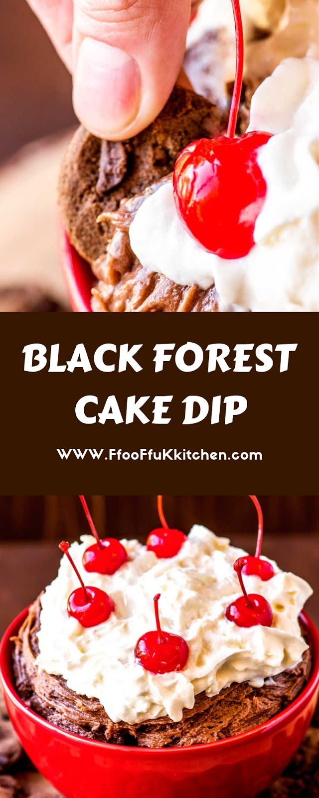 BLACK FOREST CAKE DIP