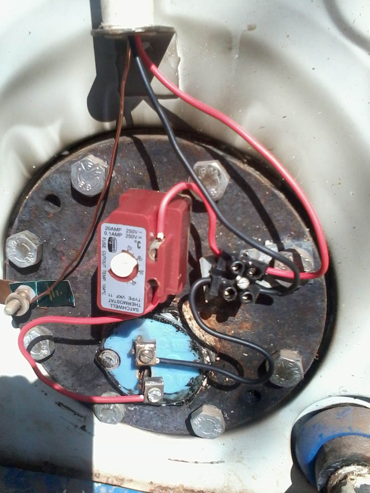 Geyser Thermostat Wiring Diagram Blank Cell Worksheet Plumber Pretoria North Plumbing