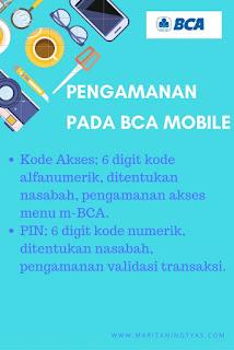Pengamanan Pada BCA Mobile