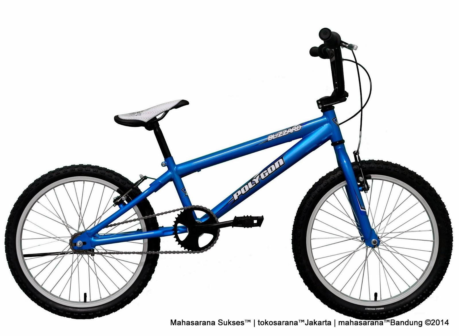 Sepeda BMX Polygon L Blizzard 20 Inci (Premium Series)
