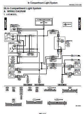repair manuals subaru impreza gd gg wiring diagrams. Black Bedroom Furniture Sets. Home Design Ideas