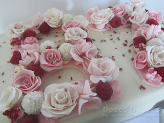 flower number cake