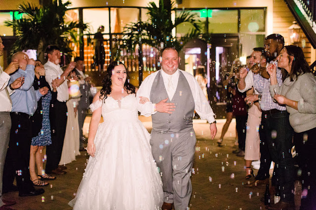 Wedding reception: end of the night laughs