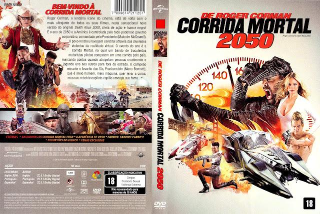 Capa DVD Corrida Mortal 2050
