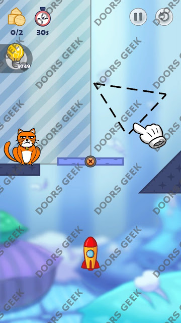 Hello Cats Level 182 Solution, Cheats, Walkthrough 3 Stars for Android and iOS