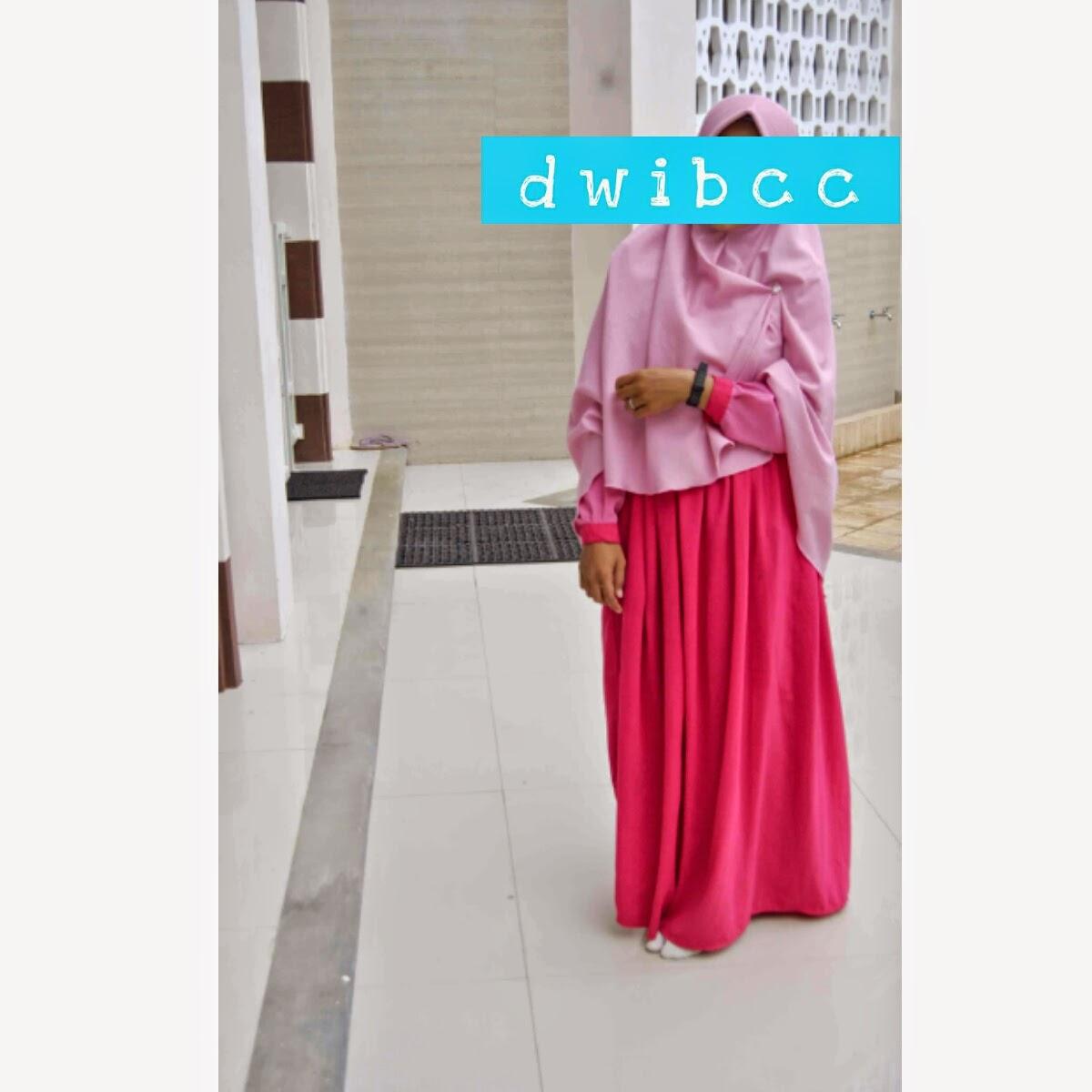 gamis syar'i dwibcc hijab
