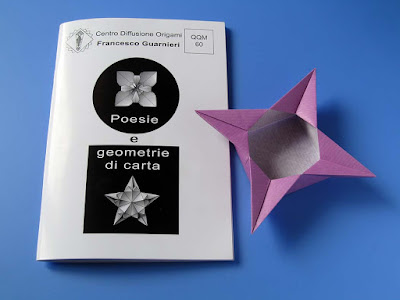 Origami: Booklet QQM 60 and Scatola a stella 2 - Star box 2  by Francesco Guarnieri