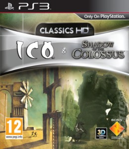 Capa THE ICO (and) Shadow of the Colossus PS3 Jogo Sem Vírus