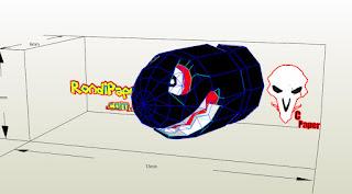 download bala rondipaper supermario papercraft