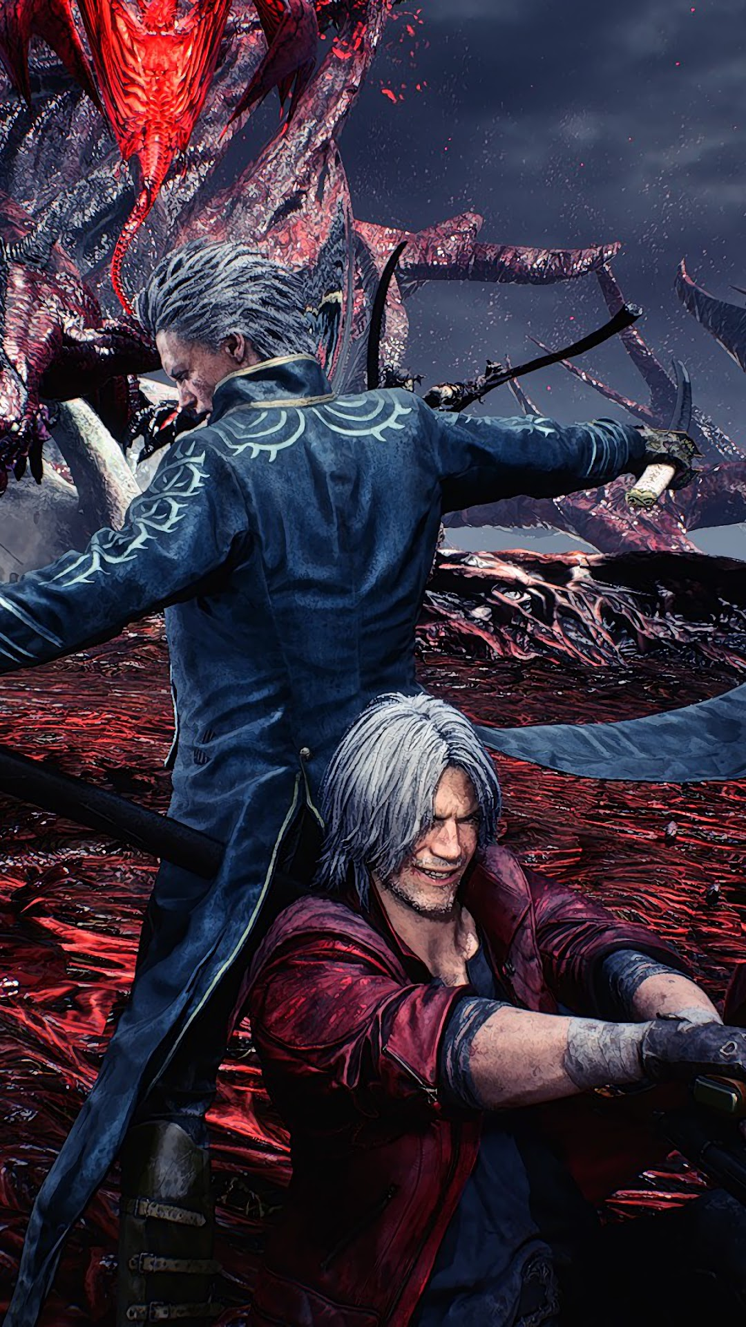 Vergil And Dante Devil May Cry 5 4k Wallpaper 223