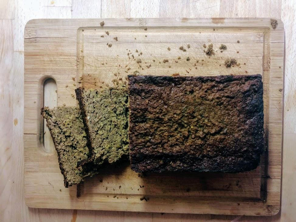 Zielony pasztet z soczewicy - wegański i bezglutenowy.
