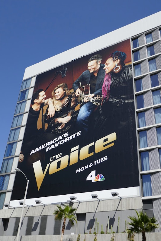 The Voice season 14 billboard