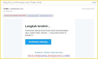 daftar akun twitter dengan yahoo mail
